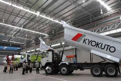 PT Kyokuto Indomobil Manufacturing Resmikan Pabrik Alat Berat - Blog Alat Berat