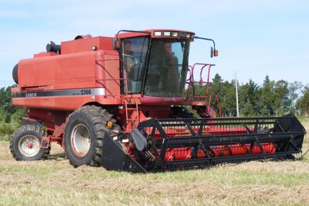 modern machine in agriculture