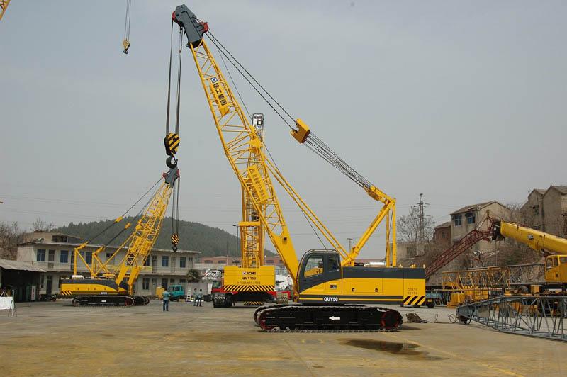 Crawler crane - alat berat blog